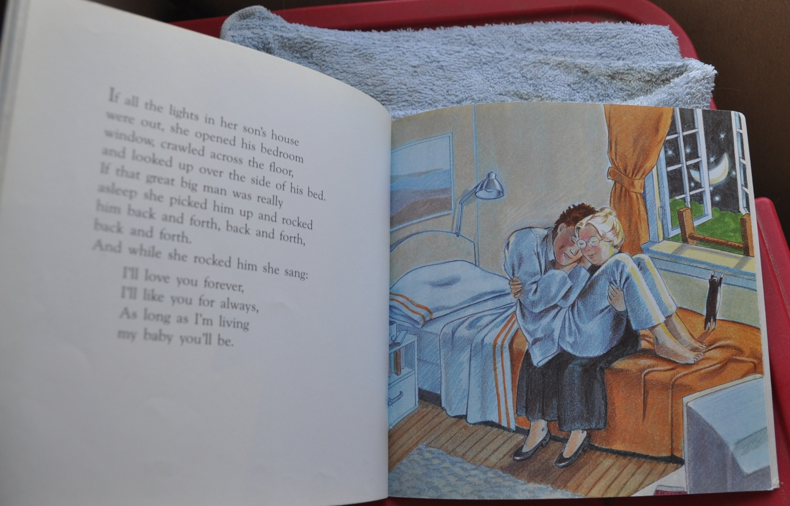 Love You Forever by Robert Munsch - BEST STORY EVER about a Mom / Mother's Love