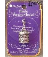 The Prayer Box Locket Silver Tone Necklace Pendant Amulet - $11.99