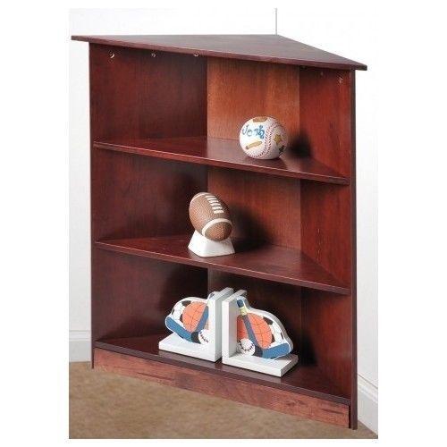 Premier 6 Shelf Corner Bookcase White At Hayneedle