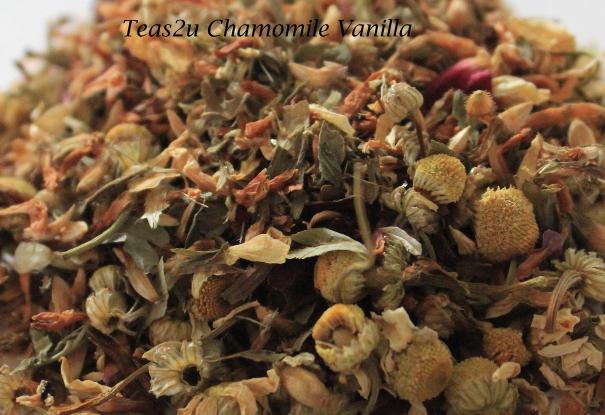 Teas2u Organic 'Chamomile -Vanilla' Herbal Tea Blend - 3.53oz (100 grams) - $14.95