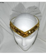 Gold Sequined Head Band Tiara for a Woman or Yo... - $9.99