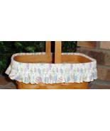 Longaberger Basket Fabric Garter ONLY Medium Pastel Color Easter Egg New... - $11.83
