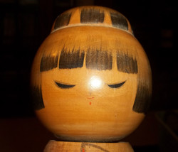 Kokeshi Doll Signed Vintage hand crafted and p... - $145.00