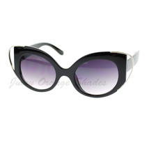 Womens Designer Fashion Sunglasses Oval Cateye Butterfly Frame - $9.95