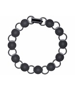 25 each Gun Metal Shiny BLACK BRACELET FORMS BLANK Findings 11 pads ~ 7.... - £44.50 GBP