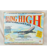 FLYING HIGH AROUND THE WORLD IN 80 PLAYS 1995 Board Game Viv Near Mint - $20.59
