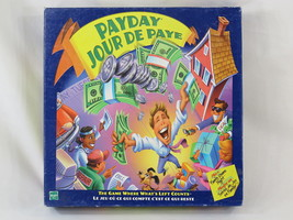 Pay Day 2000 Board Game Hasbro Parker Brothers 100% Complete Excellent B... - $15.84