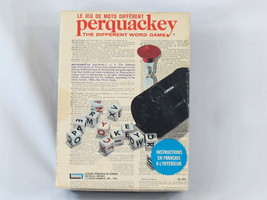 Perquackey Dice Word Letter Game 1969 Lakeside Complete Excellent Condition - $15.30