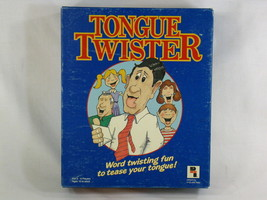 Tongue Twister 1980's Board Game Play Toy Industries 100% Complete Excel... - $9.84