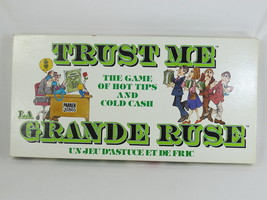 Trust Me 1981 Board Game Parker Brothers 100% Complete Bilingual Near Mint - $17.70