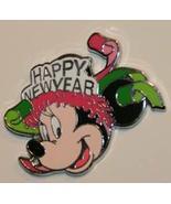 Disney Colorful Happy New Year LE 500 Minnie mini pin - $9.29
