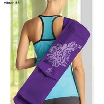 Gaiam Yoga Mat Bags Zip Cargo Tote Pocket Fitness Gym Bag Watercress Case NEW - $34.83