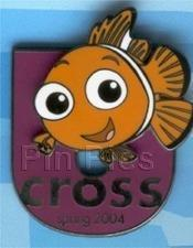Primary image for Disney Finding Nemo Cast Member Cross U Finding Nemo LE 2400 Pin