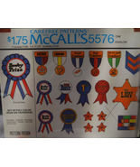 Iron On Transfers 1977, Award Ribbons, All Shown - $2.75