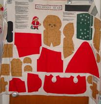 Christmas Fabric Panel Bear 1 yard - $8.99