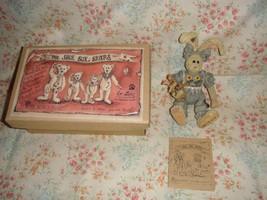 Boyds Bears Winnie Hopkins & Bunnylove Shoebox Bear - $13.89