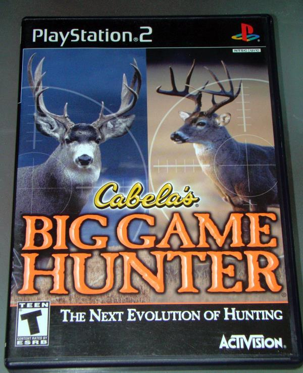 Primary image for Playstation 2 - Cabela's BIG GAME HUNTER (Complete with Instructions)
