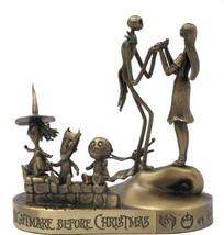 Tim Burton Nightmare Be4 Christmas Jack, Sally, Lock. Shock, Barrel  Bronze - $235.99
