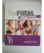 The Firm Express 13 Disc Set DVD 2010 with Fitness Guide As Seen on TV - $27.71