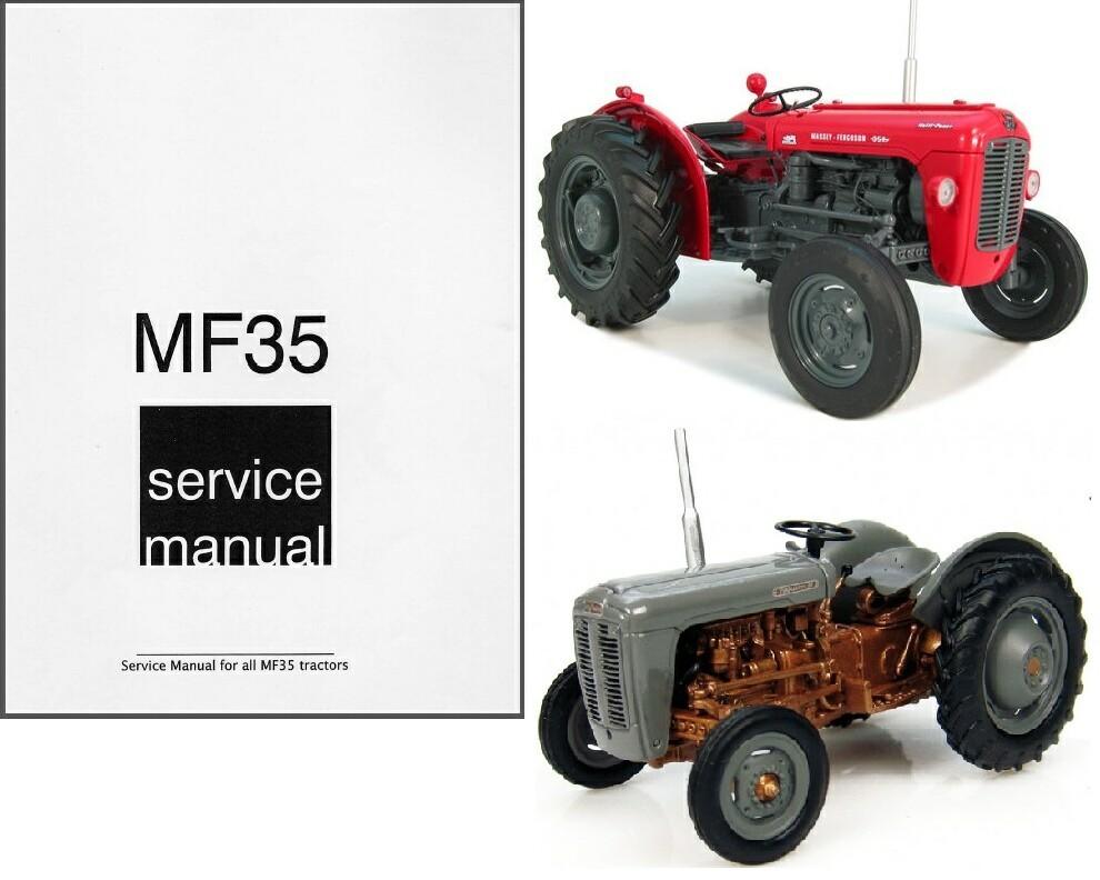 Ferguson 35 Parts : Massey ferguson mf fe tractor service and similar
