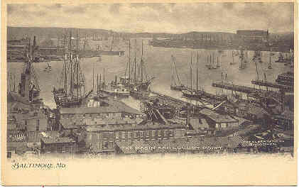 Primary image for Locust Point Baltimore Maryland 1906 Vintage Post Card