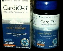 Heart Health Minami Nutrition CardiO-3 Garden of Life 60CT·MSRP $35.69 - $19.79