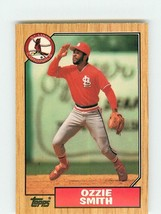 1987 Topps Ozzie Smith #749 St. Louis Cardinals (MT) Baseball Card - $1.09