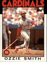 1986 Topps Ozzie Smith #730 St. Louis Cardinals (FN) Baseball Card - $0.29