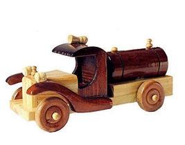 Vintage Handmade Wooden car model Home Furnishing decoration-B - $23.07