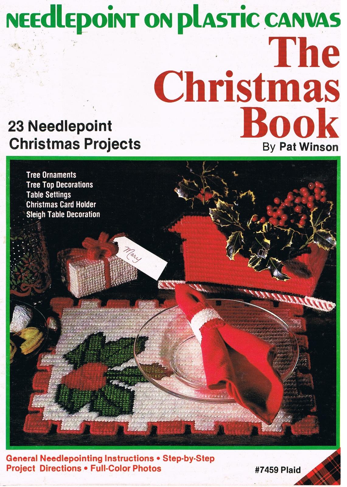 Needlepoint the christmas book
