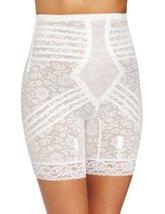 Rago Women's Hi Waist Long Leg Shaper, White, Small/26 [Apparel] - $42.13