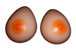 Silicone Breast Forms Mastectomy Size 11 42 D 44 C 44 Ddd 46 D [Health And Beauty] - $70.37
