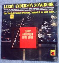 Leroy Anderson Songbk sealed LP Sleigh Ride Christmas Blue Tango Jazz Pi... - $11.98