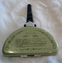 Green Egg Poacher Omelet Recipes Kitchen Vintage Mirro Rare cookware - $24.75