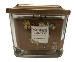 Yankee Candle Harvest Walk  Elevation Medium 3-wick Square Candle 12.25 ... - $17.81