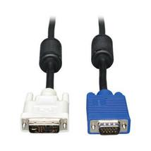 TRIPP LITE P556-003 3FT DVI TO VGA MONITOR CABLE HIGH RES W/ RGB DVI-A T... - $15.32