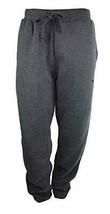 PUMA Men's Fleece Ttaack Pants Dark Gray Heather Small S - $26.59