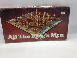 All The Kings Men Board Game Parker Brothers 1979 Factory Sealed - $37.86
