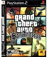 PlayStation 2 - Grand Theft Auto San Andreas - $9.50
