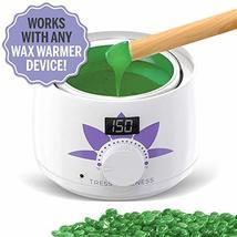 Hard Wax Beans Kit [6 Bags + Pre & After Spray] Hard Wax Beads Hair Removal - Wa image 3