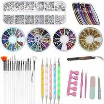 Manicure Diamond Phototherapy Nail Combination Set Painted Pen Tip (1 SET) - $26.32