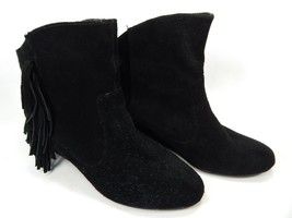 """Falchi by Falchi Madison Women's 2"""" Wedge Ankle Boots Size 9 M Black"""