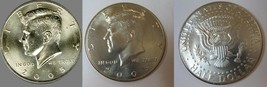 2005 P and D  BU Kennedy Half Dollar from US Mint Roll CP2433 - $4.75
