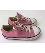 Converse All Star Toddler Girls Shoes Size 9 Pink 7J238 - $9.89