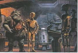 Star Wars Return of the Jedi 4 x 6 Art Postcard #1, NEW - $2.00