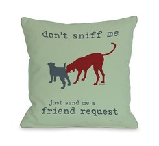 One Bella Casa Friend Request Mint Throw Pillow, 26 by 26-Inch - $65.09