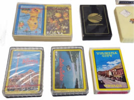 Vintage Playing Card Lot Airlines Delta Korean Continental Western Cruise Lines image 2