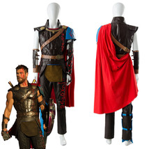 The Avengers Thor 3 Ragnarok Arena Gladiator Suit Battle Cosplay Outfit ... - $224.66+