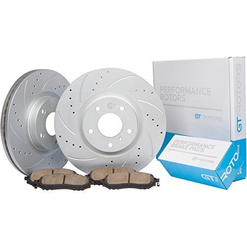 [Rear Set] GT//Rotors Performance Brake Disc Rotors & Ceramic Brake Pads for BMW for sale  USA