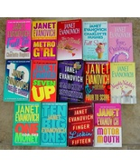 14 JANET EVANOVICH–Stephanie Plum/One for the Money-Full Tilt-Scoop + - $39.99